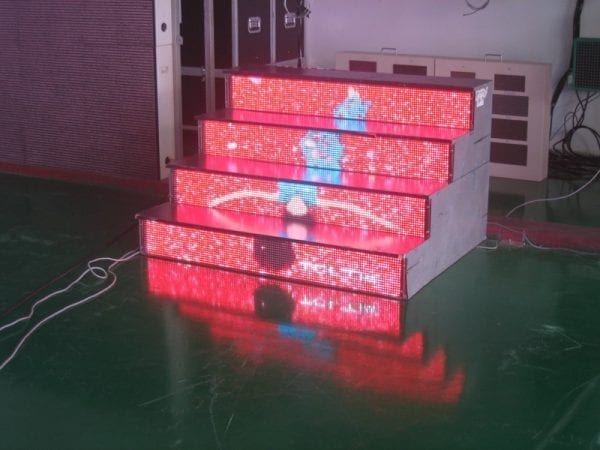 LED staircase sample