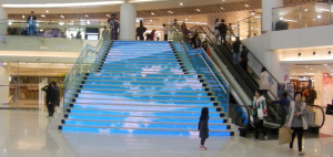 Ledstairs-installation-display