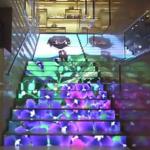 escalier dynamique