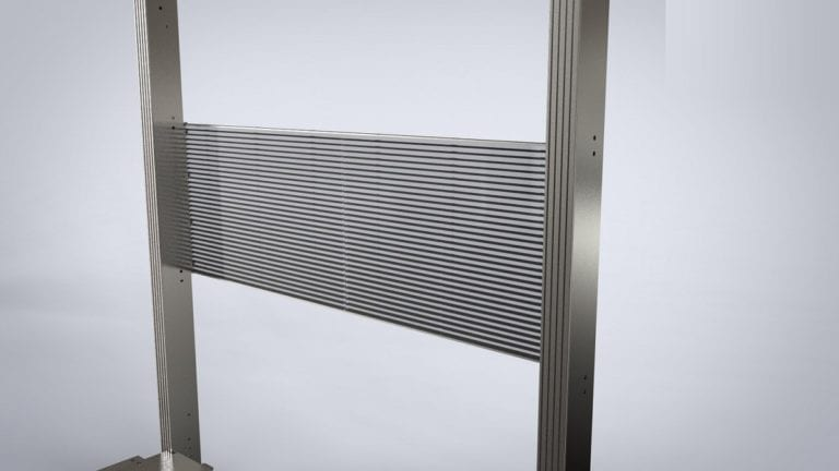 transparent glass led product