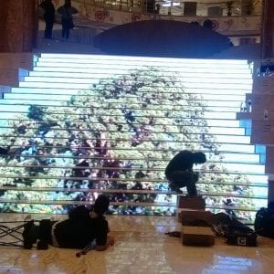 Escaliers LED
