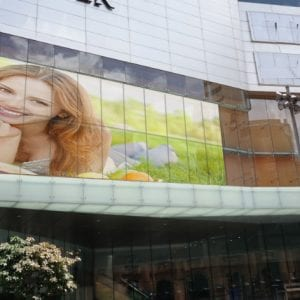 LED Facade Bendable Flexible Bespoke Outdoor