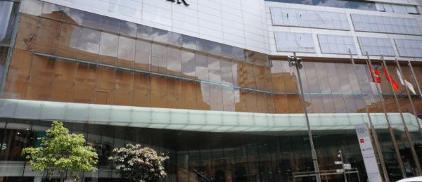 LED Facade Bendable Flexible Bespoke Outdoor glass transparent