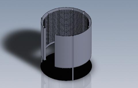 design curved transparent led