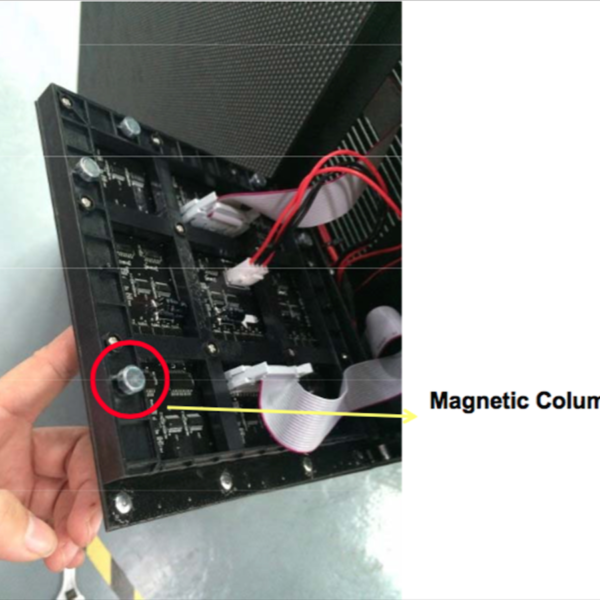 Magnetic Column square LED innovative shape