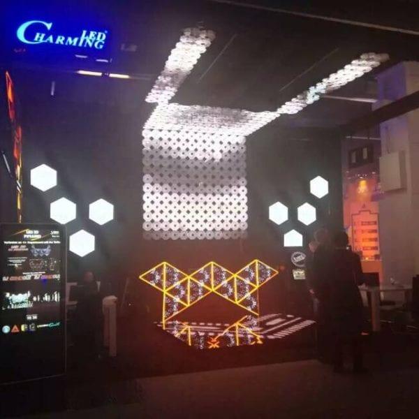 Ring LED display