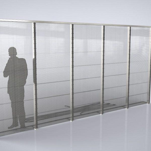 transparent led glass screen