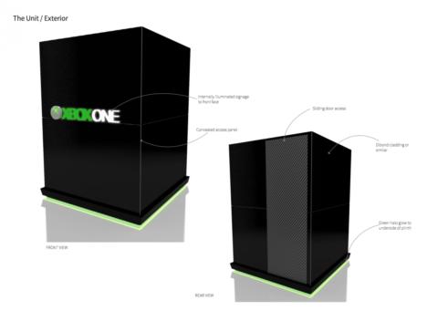 LED Flexible Bendable Bespoke Microsoft Minecraft Square LED 1201x852
