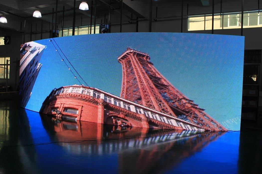 Flexible Led Indoor Display Pixel Pitch 3 9 Golden Wire