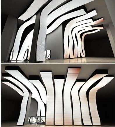 Milano Mango flexible led custom bespoke wave 1