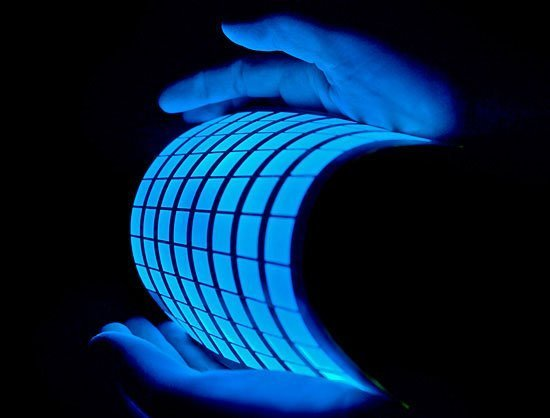 OLED flexible bendable transparent custom 4K HD
