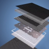 Interactive LED floor inside