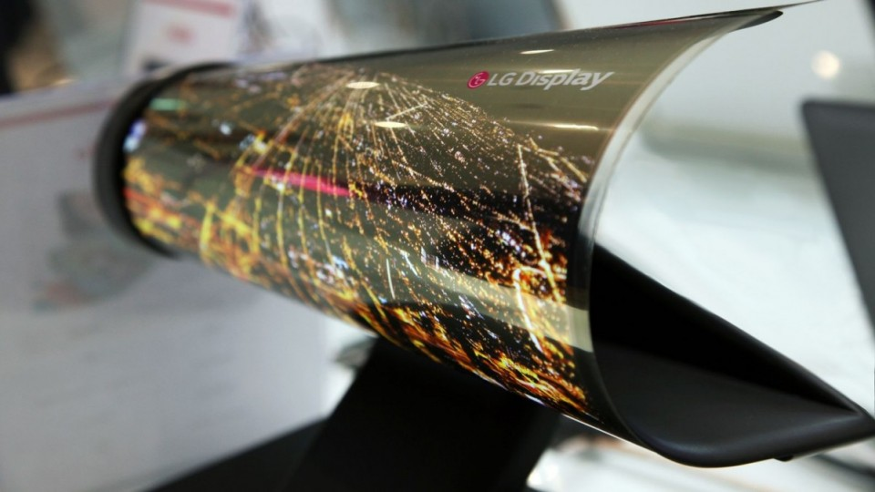 OLED flexible innovative screen display led bendable
