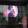 Showcase LED transparent display