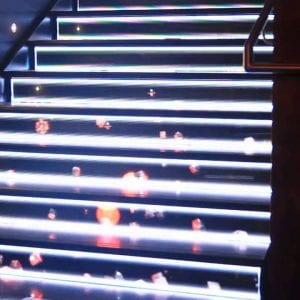 LED staircase display Maxres