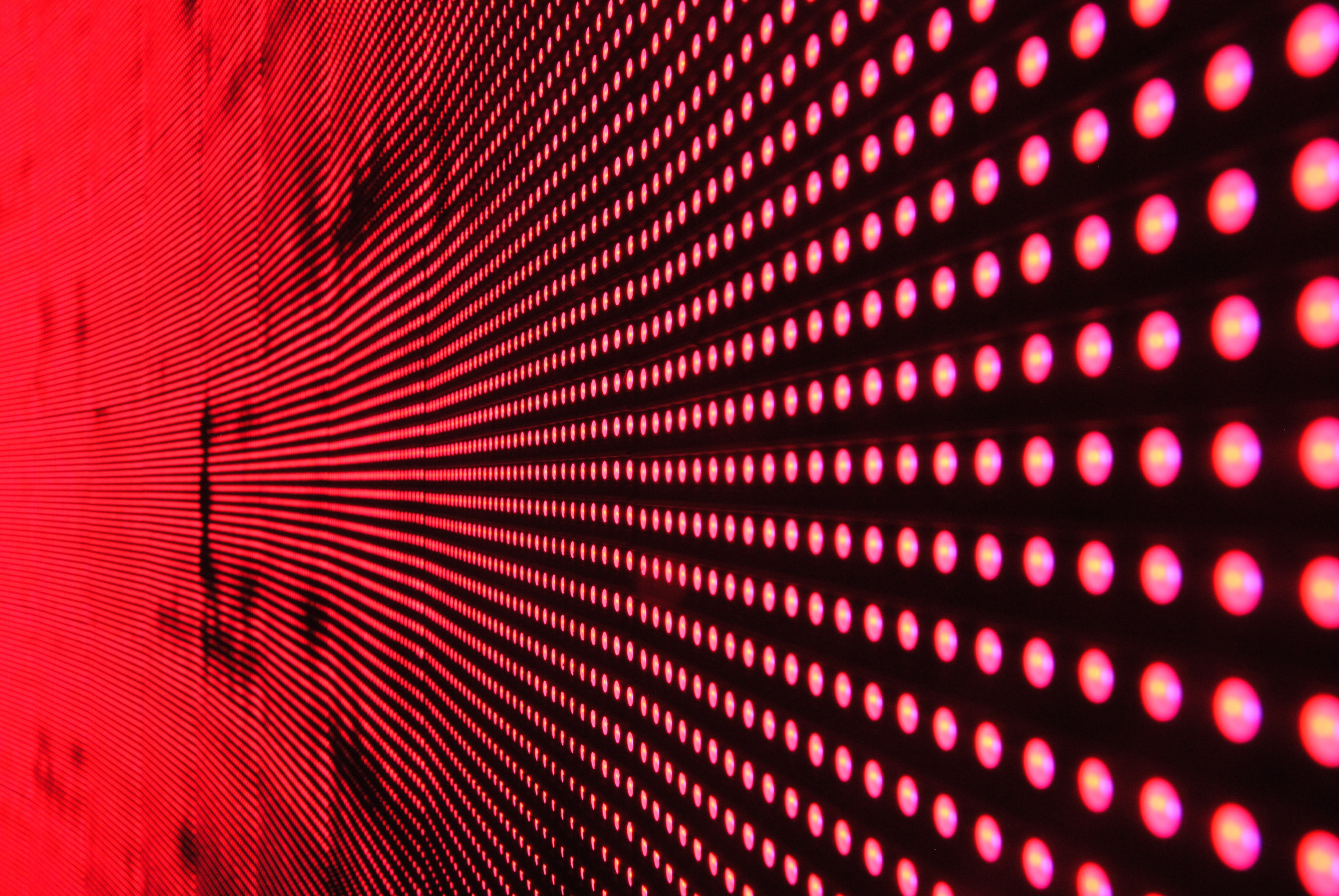 structure LED screen display zoom