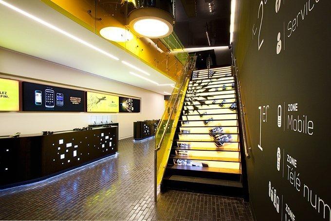 Светодиодные лестницы лестничные