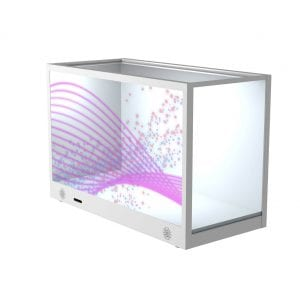 BOX display LCD transparent screen