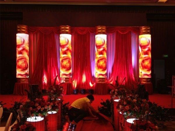 curved led display screens