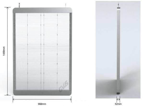 экран стекла LED