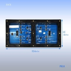pitch modulable led display inside screen