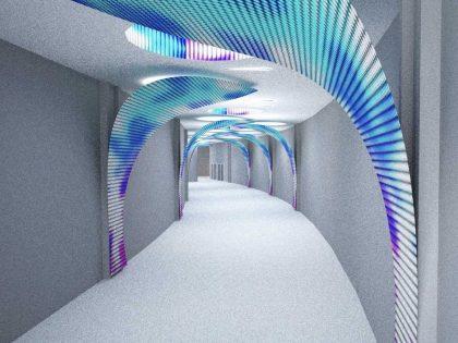 Nuestras propuestas de diseño de LED para El Corte Inglés, Madrid