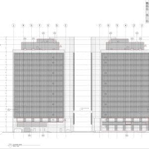 Building facde LED project drawings