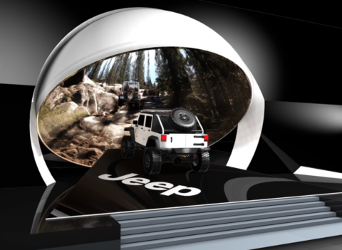 JEEP 3D preview cars design