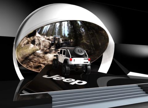 JEEP 3D preview cars design