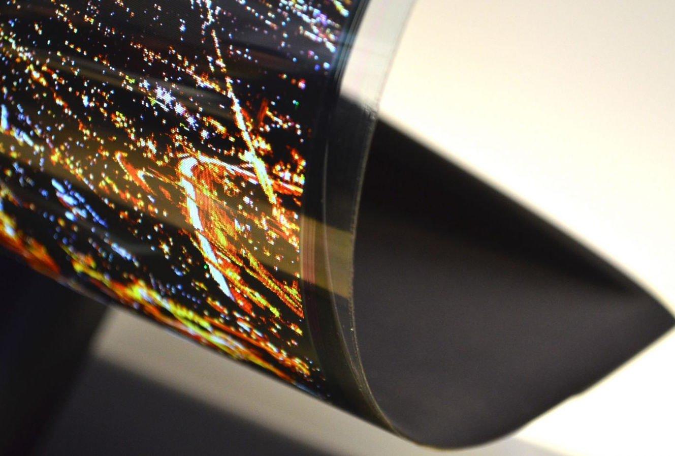 LG flexible OLED