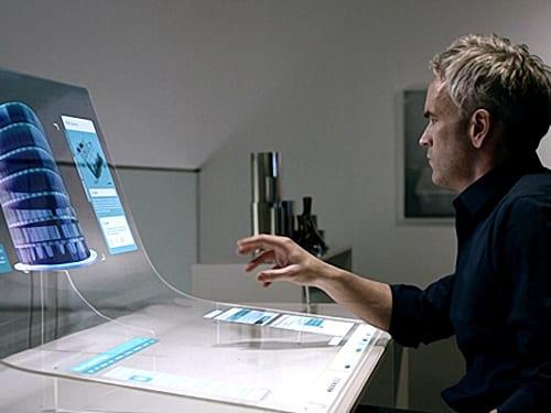 transparent LG OLED Display