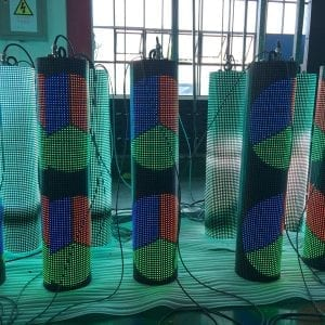 p10 cylindrical led