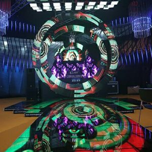 Ring LED display screen