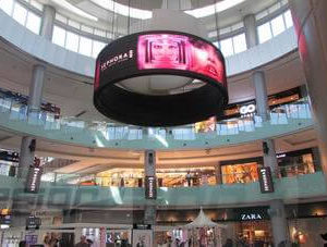round led display