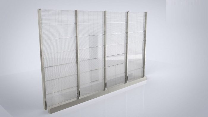 transparent led glass display product