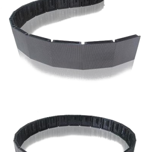 Cylinder curved flexible ring LED display P8 flexible flexpanel 01
