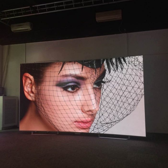 angled led display indoor pixel pitch 2.6