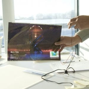 streetco de film transparent LED OLED