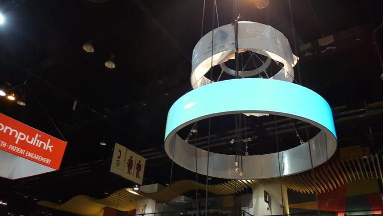 LED circle round
