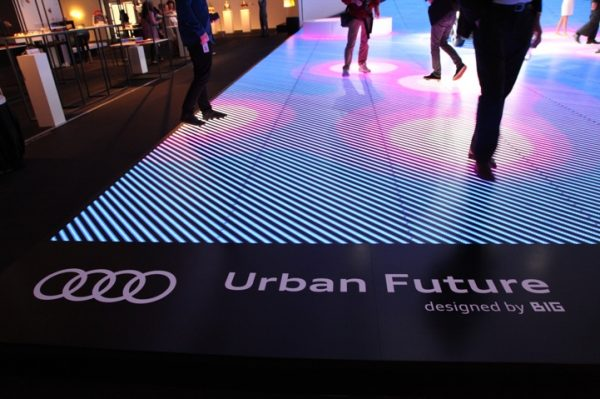 Interactive LED Floor