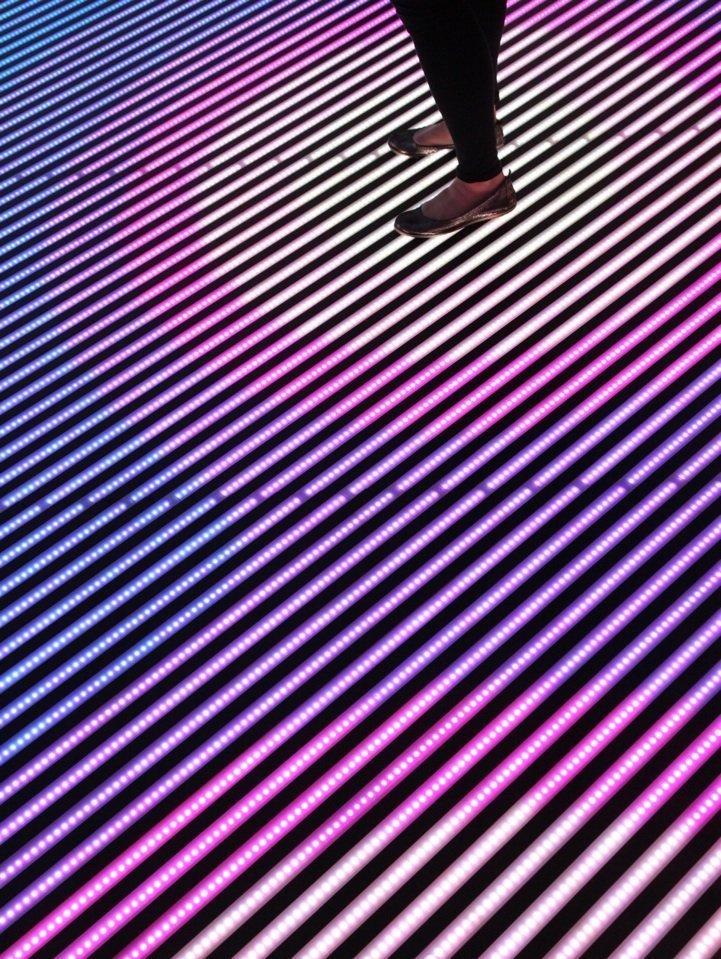 Interactive LED Floor indoor