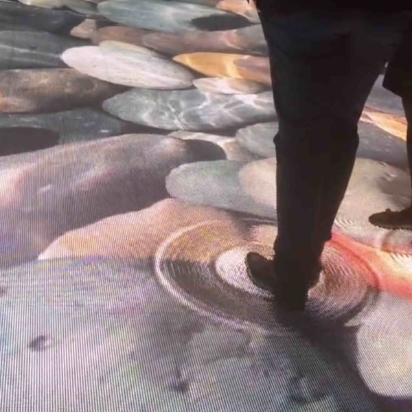Interactive LED Floor multitouch