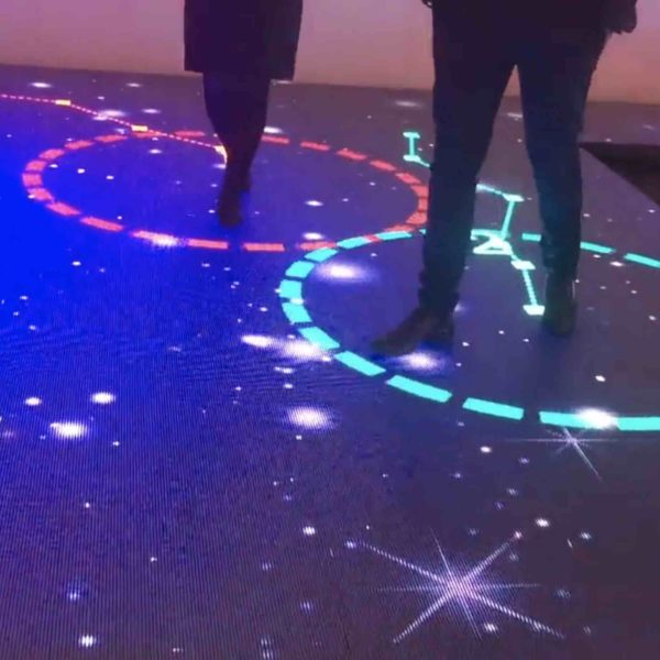 Interactive LED Floor multitouch outdoor