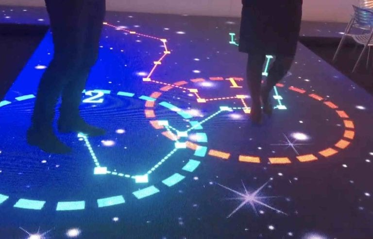 Interactive LED Floor multitouch outdoor and indoor