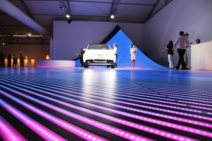 Interactive LED Floor outdoor