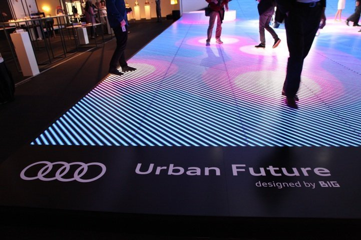 Interactive Floor Led Outdoor Street Communication