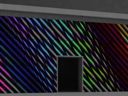 Ambilight Facade LED Screen Post