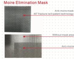 masque d'élimination moiré