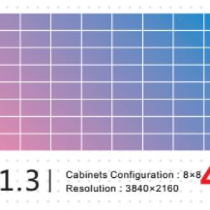 ультра тонкой шаг 1.3 резолюции 4K
