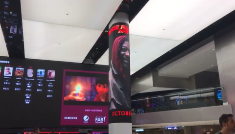 Column led display movie